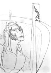 Sketch--So Tall...
