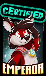 Certified EMPEROR Badge GET!