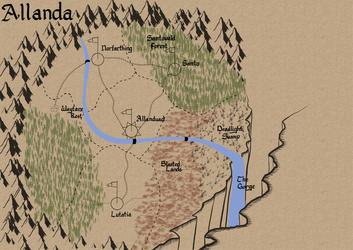 Map for Summer - Allanda