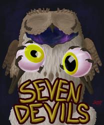 COMM: Seven Devils Eyes Out Badge