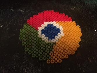 google chrome perler