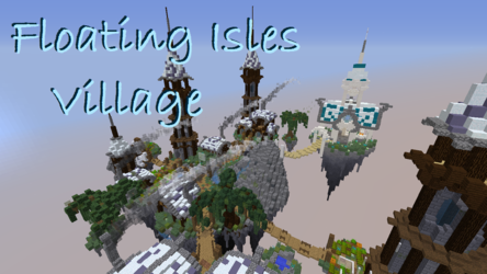 Floating Isles Village - Minecraft Build