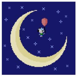 A Balloon To The Moon