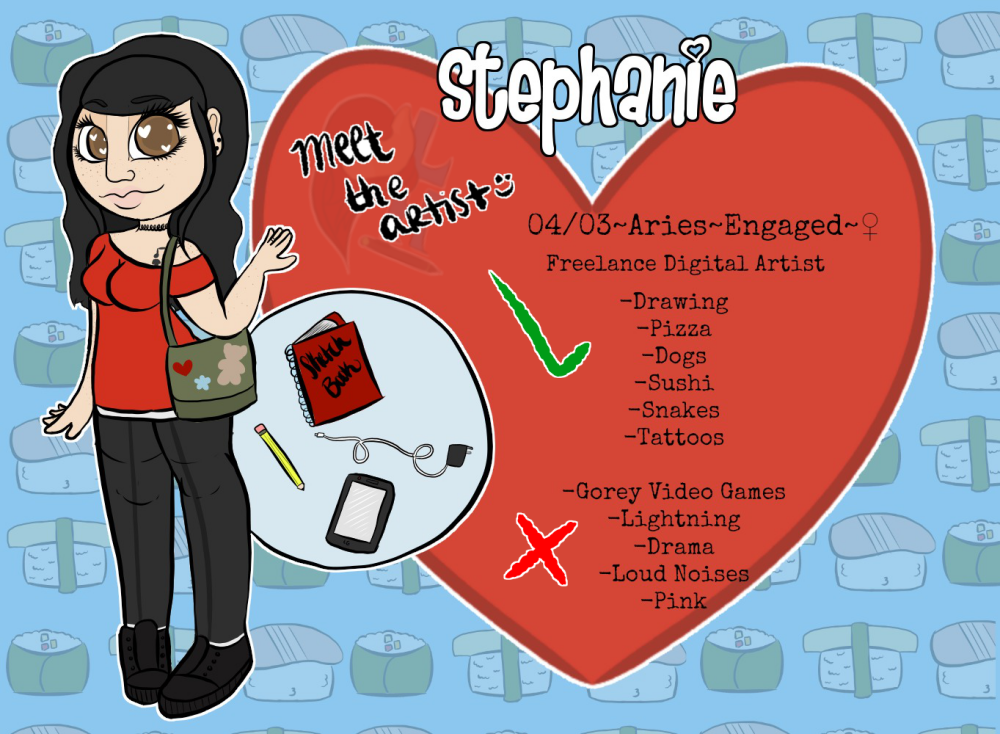 Most recent image: Meet the Artist...Stephanie of Lovely Hooves Ink
