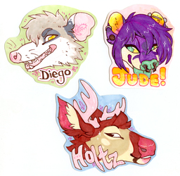 Diego, Holtz, Jude