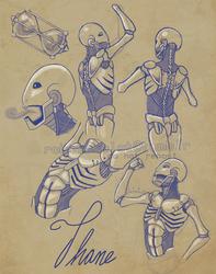 Thane scribbles
