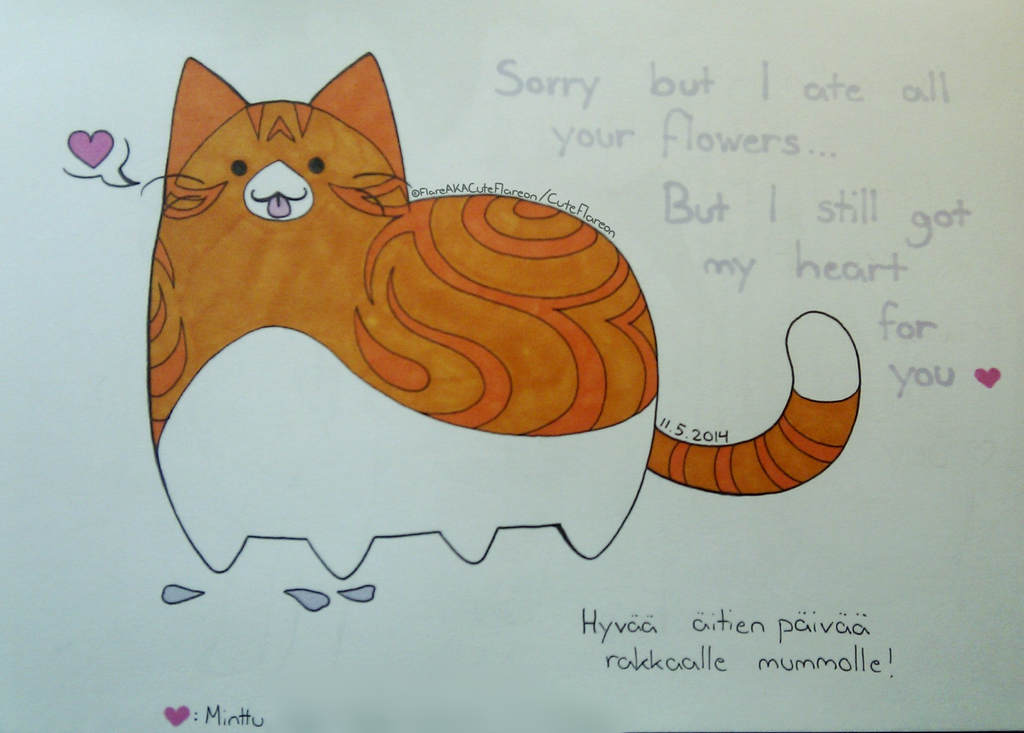 Sorry but I ate your Flowers