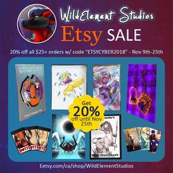 2+ Week Etsy Sale!