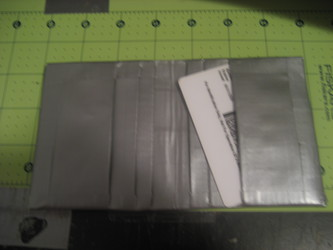 gray duct tape smallet