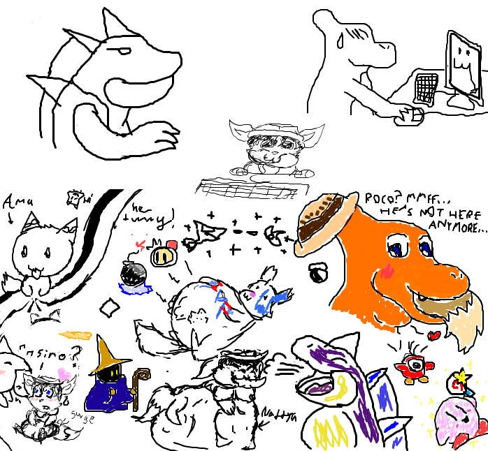 Charem's First iScribble Session - by Many