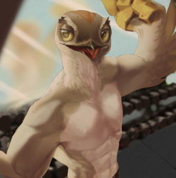 [ sketch ] Buff Potoo