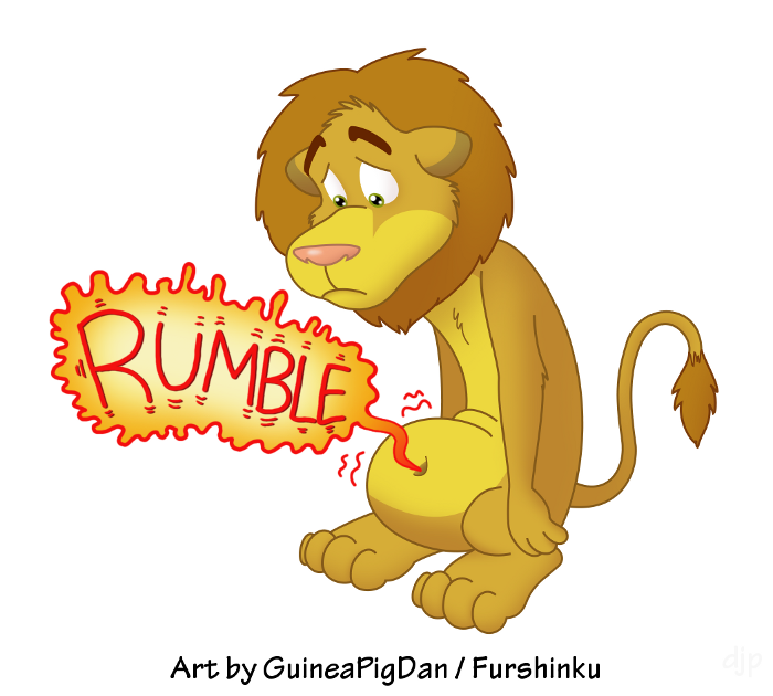 Hungry Lion -color-
