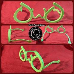 OwO Fursuit Glasses