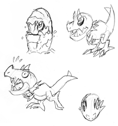 Tyrunt Sketchpage