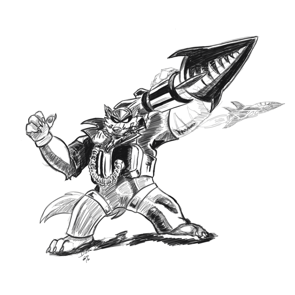 Swat Katz - The Radical Squadron YCH Swampwulf