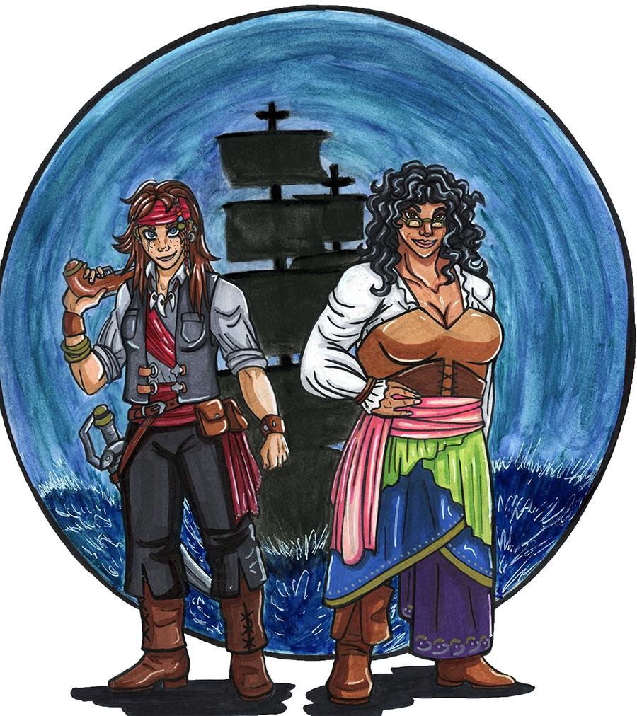 We're Pirates!