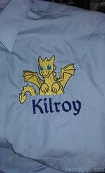 Kilroy in a pocket