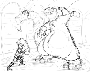 The Rat King boss battle