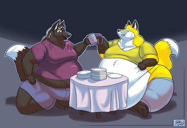 A vague Dinner time