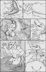Commission: TitanLeon Sketch Comic