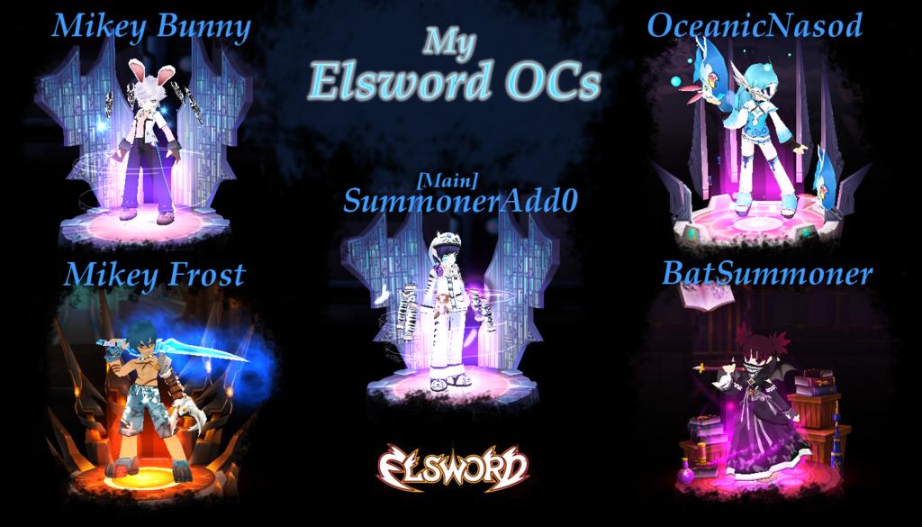 My Elsword OCs