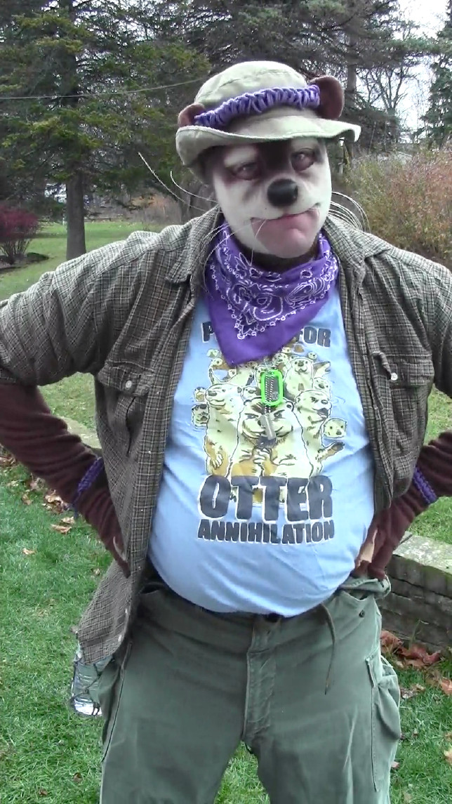 Otter costume (Hrmph pose) (pre-MFF pic dump!)