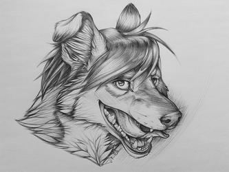 Commission for Hutz - pretty tongue