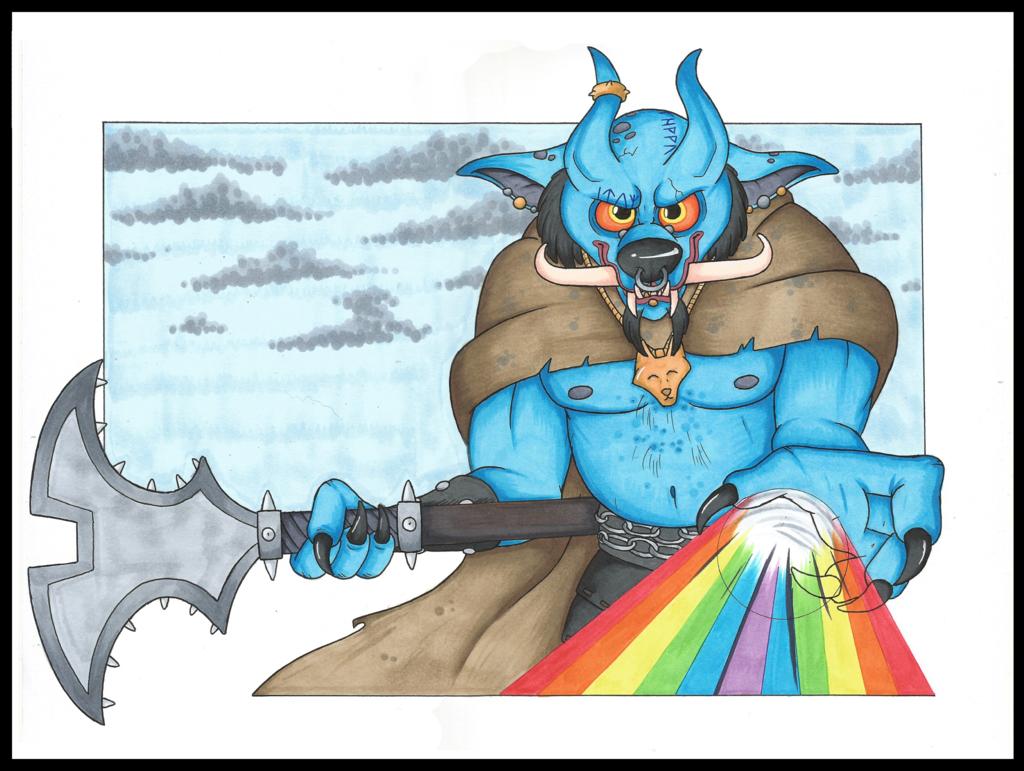 Xagras, the Oni Prince