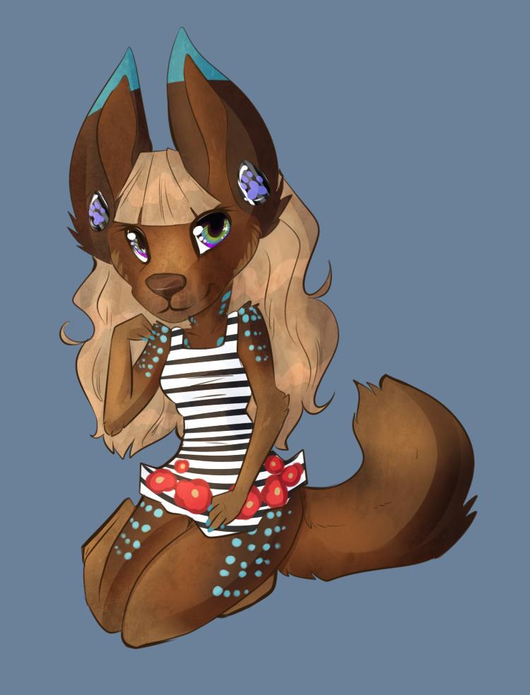 Chibi Dress Lady