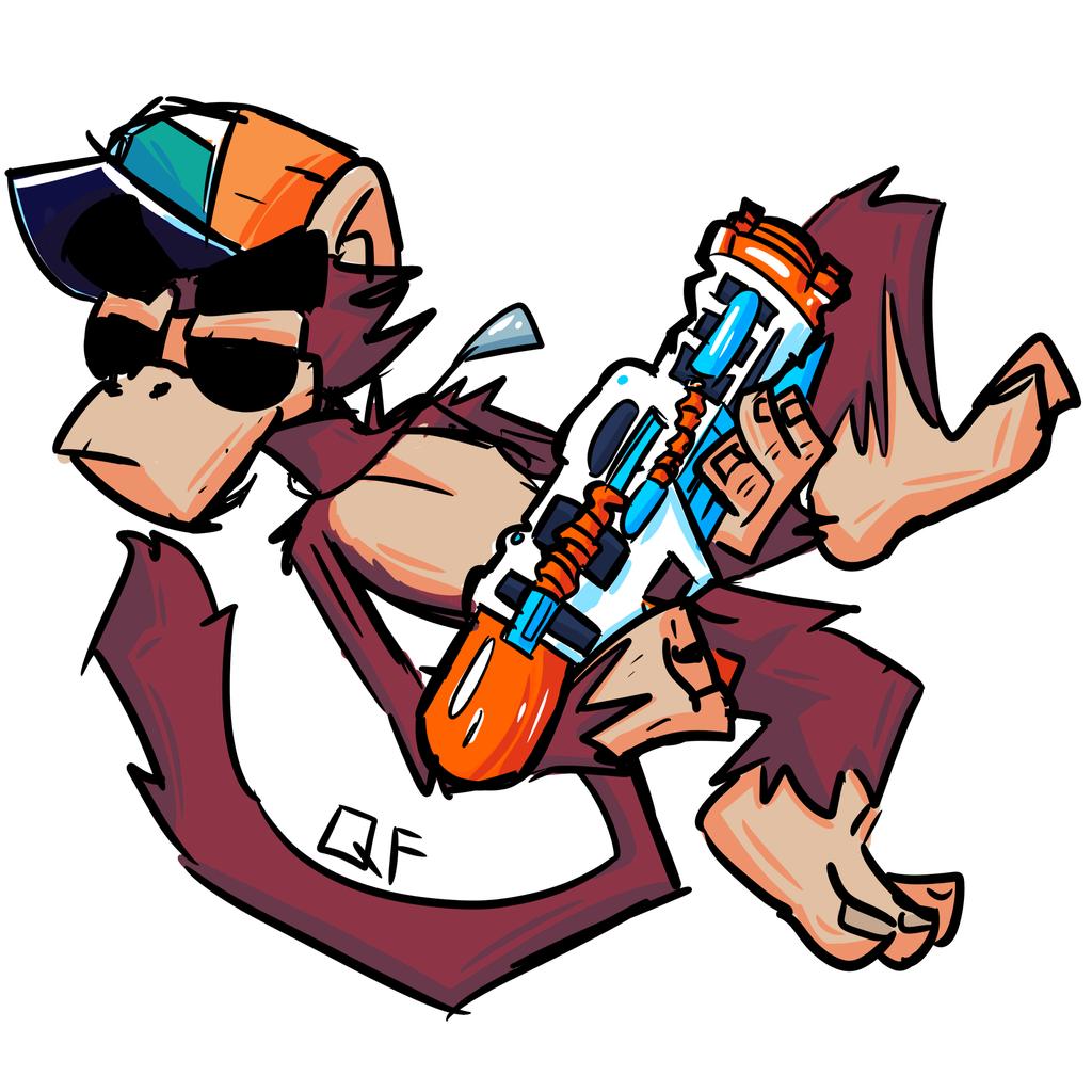 NERF Monkey (2018)