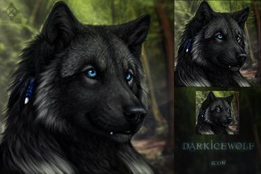 DarkIceWolf Icon