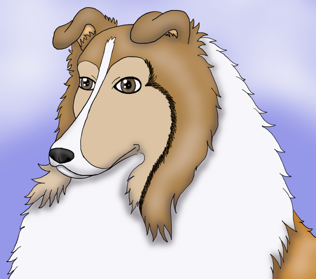 Most recent image: Collie fursona two