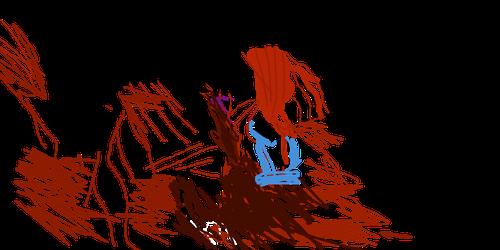 Death of a BloodClan leader