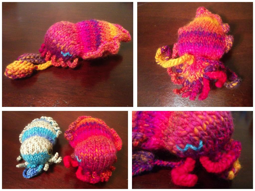 Eyes's giant cuttlefish