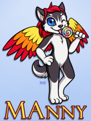 MAnny Ridicudorable Badge
