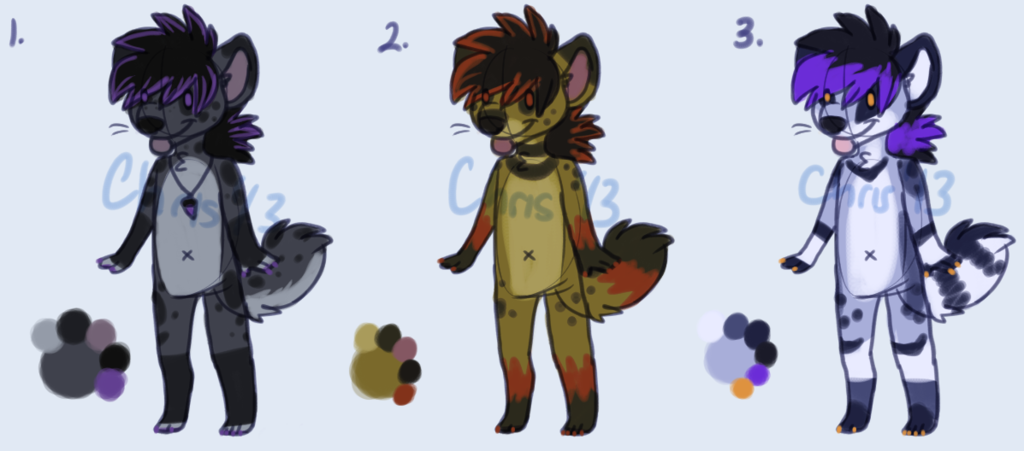 Hyena Adopts [AUCTION!!]