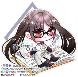 Fate Grand Order Bookie Hinako Akuta +speedpaint