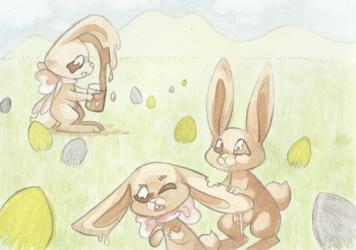 Cannibal chocolate rabbit