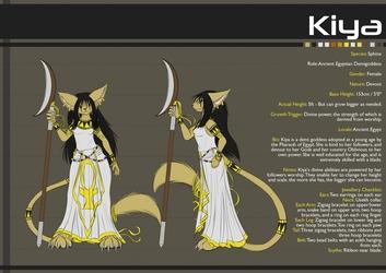 Reference Sheet - Kiya