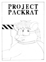 Project Packrat Comic Cover Concept