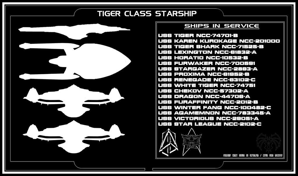 Tiger Class Starship - Sheet 5/5