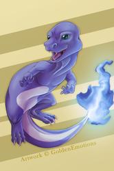 A Blue Charmander
