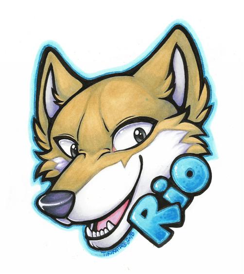 Rio Badge (Commission)