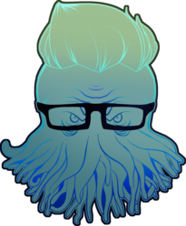 Hipster Cthulhu. Version 0