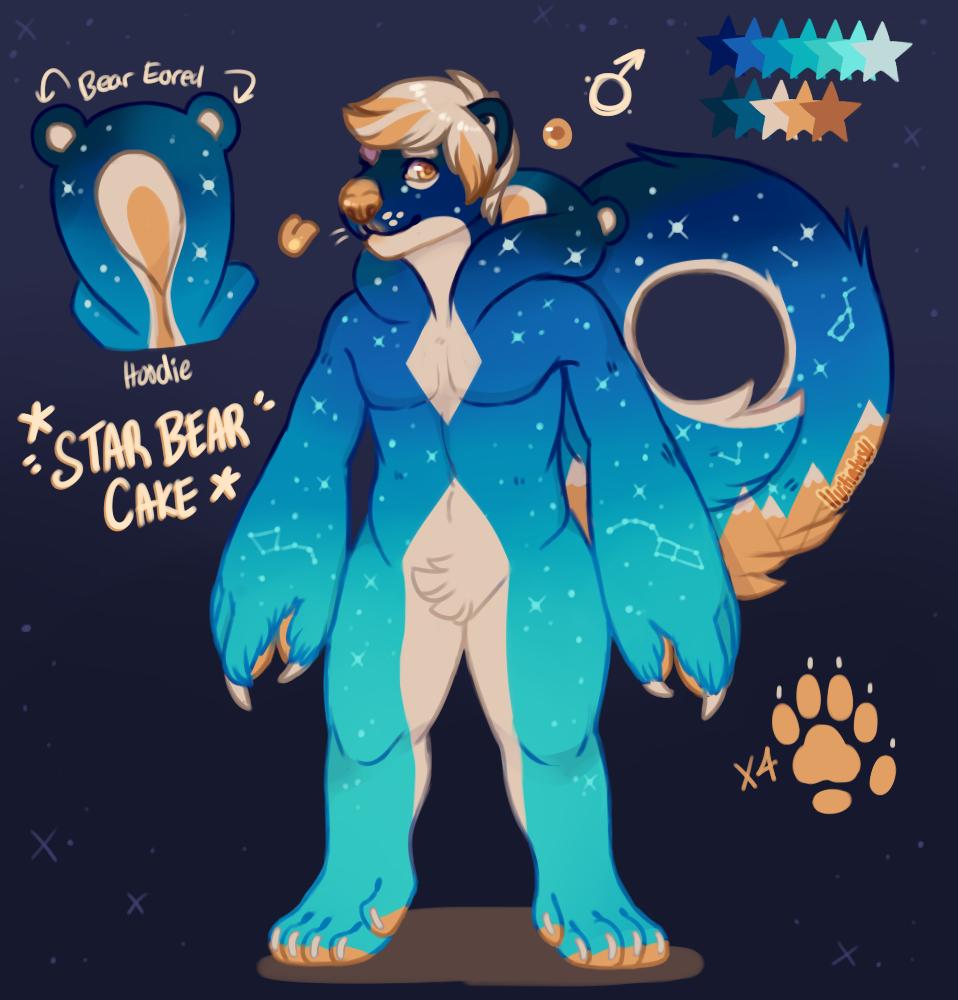 Star Bear Cake [Trade]