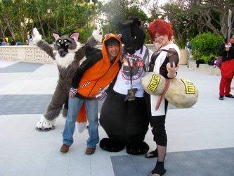 Furry Photobomb