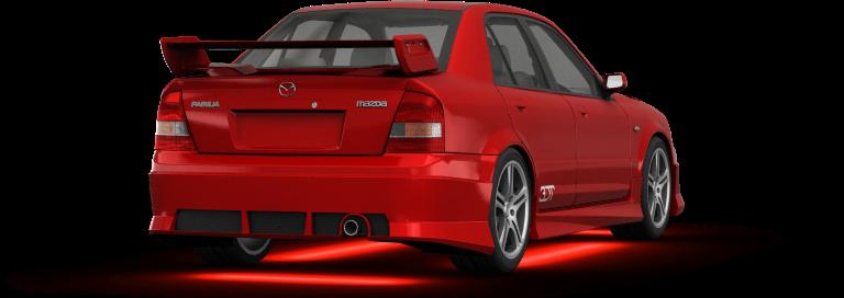 Mazda protegé shot 2 (Rear)
