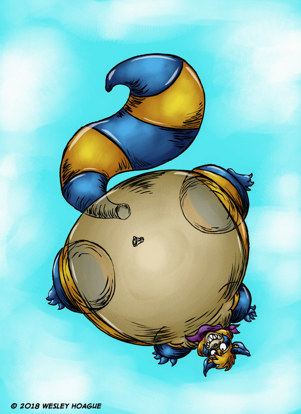 Most recent image: First inflation art yay!