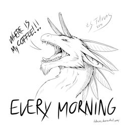 """Every morning ^^"""""""
