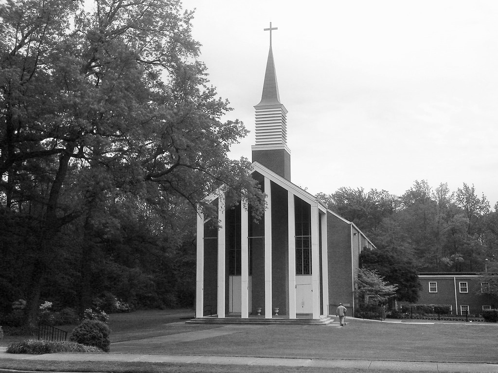 Most recent image: Shiloh SDA Church - B&W shot